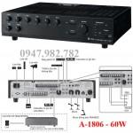 Amply Toa A-1806 Mixer 60W