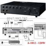 Amply Toa A-1812 Mixer 120W