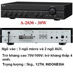Amply Toa A-2030 Mixer 30W