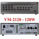 Amply Toa VM-2120 120W chọn 5 vùng loa