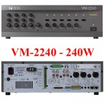Amply Toa VM-2240 240W chọn 5 vùng loa