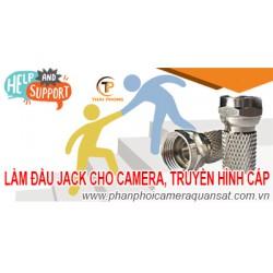 Hướng dẫn làm jack F5 cho camera và truyền hình cáp