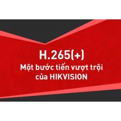 Chuẩn nén H.265+ - Một bước tiến vượt trội của Hikvision