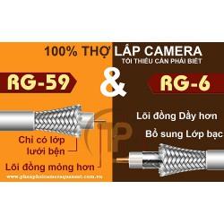 Có thể bạn chưa biết sự khác nhau giữa cáp đồng trục RG6 và RG59