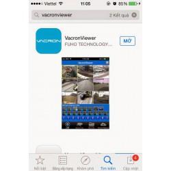 Hướng dẫn cài đặt và sử dụng phần mềm VacronView xem camera trên điện thoại iphone IOS/Android