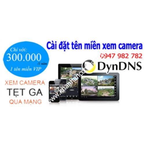 Hướng dẫn đăng ký tên miền camera