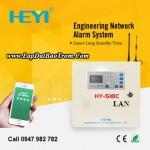 Tủ báo động Heyi HY-518C (LAN), APP điện thoại IOS,Android (báo trộm)