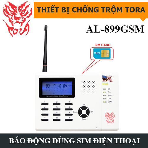 Thiết bị chống trộm TORA AL-899GSM dùng sim điện thoại, đại lý, phân phối,mua bán, lắp đặt giá rẻ