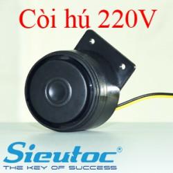 Còi hụ PG-220V nguồn điện 220V