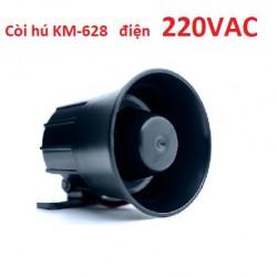 Còi hú báo động dùng nguồn 220V KM-628