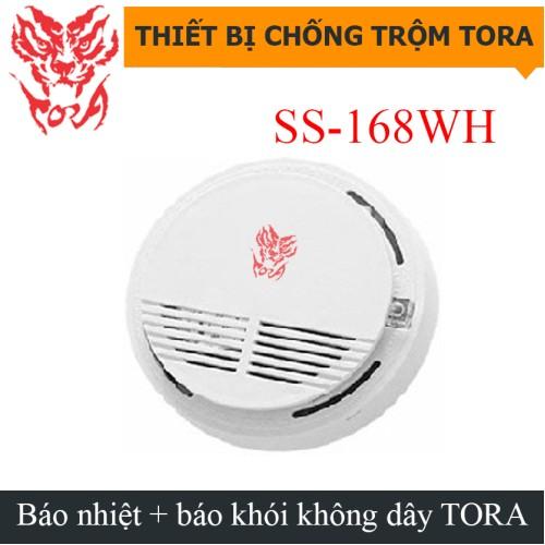 Báo nhiệt + báo khói không dây SS-168WH, đại lý, phân phối,mua bán, lắp đặt giá rẻ
