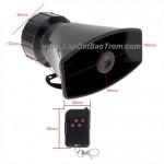 Còi hú báo động TORA TR-C2009W 100W remote điều khiển từ xa