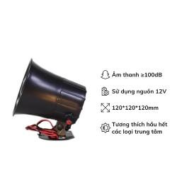 Còi báo động ngoài trời có điều chỉnh âm lượng PR-S02V