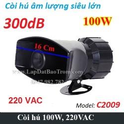 Còi hú công suất lớn 220V TR-C2009 100W