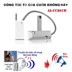 Công tắc từ báo động gắn cửa cuốn không dây AL-CC801W