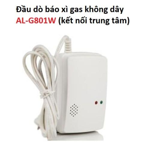Đầu dò báo xì gas không dây AL-G801W (kết nối trung tâm), đại lý, phân phối,mua bán, lắp đặt giá rẻ