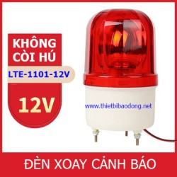 Đèn cảnh báo LTE-1101 Không Còi Hú điện 12V (Led nháy)