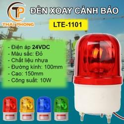 Đèn chớp cảnh báo LTE-1101 điện 24V màu đỏ (Led nháy)