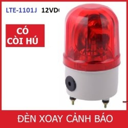 Đèn cảnh báo CÓ CÒI HÚ LTE-1101J điện 12V (Led nháy)