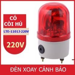 Đèn chớp cảnh báo CÓ CÒI HÚ LTE-1101J điện 220V (Led nháy)