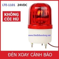 Đèn xoay cảnh báo và cứu hộ LTE-1101L không còi, điện 24VDC