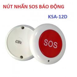 Nút nhấn báo động khẩn cấp SOS không dây KSA-12D, 433 Mhz