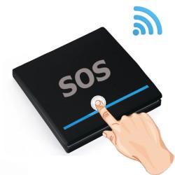 Nút bấm khẩn cấp không dây SOS-911A1 tần số 433 MHz