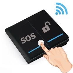 Nút bấm khẩn cấp không dây SOS-911A2 tần số 433 MHz