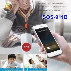 Nút bấm khẩn cấp không dây SOS-911B tần số 433 MHz