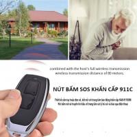 Nút bấm khẩn cấp không dây SOS-911C tần số 433 MHz