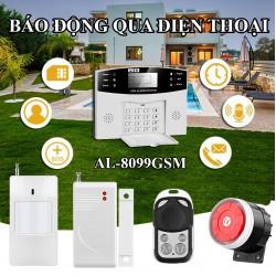 Báo động qua điện thoại dùng SIM AL-8099GSM