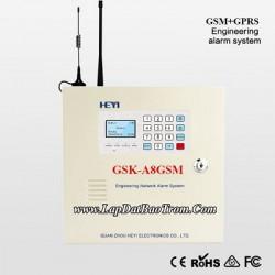 Tủ báo động GSK-A8GSM, APP điện thoại IOS,Android (báo trộm)