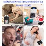 Chuông báo khẩn cấp SOS cho người già KAS-911GSM qua điện thoại (dùng SIM)