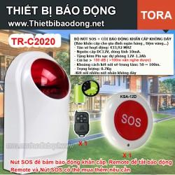 Bộ còi hú báo động khẩn cấp điều khiển từ xa TR-C2020