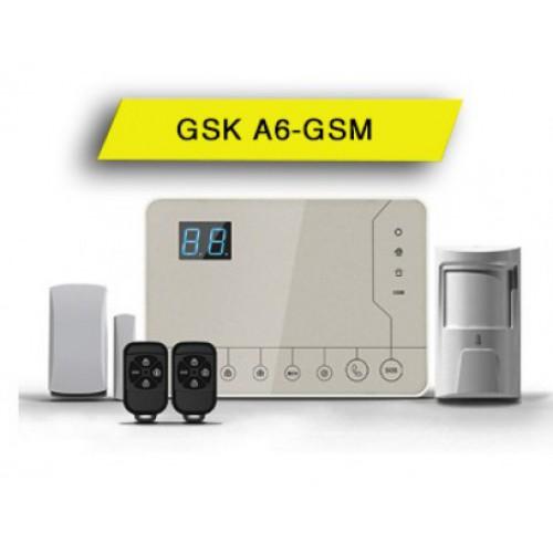 Tủ báo động GSK-A6GSM, APP điện thoại IOS,Android (báo trộm), đại lý, phân phối,mua bán, lắp đặt giá rẻ
