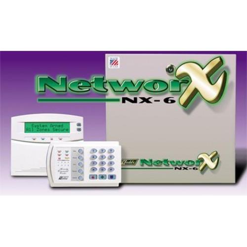 Bộ báo trộm báo cháy trung tâm GE NetworX NX-6, đại lý, phân phối,mua bán, lắp đặt giá rẻ