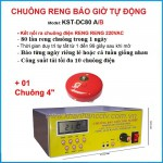 Bộ chuông reng báo giờ tự động 80 lần/ngày KST-DC80AB