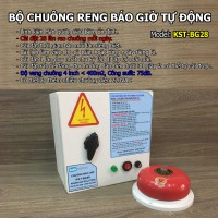Bộ chuông reo báo giờ tự động không dây KST-BG28WL