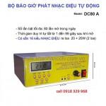 Bộ phát nhạc điệu tự động DC80A, 16 kiểu nhạc điệu