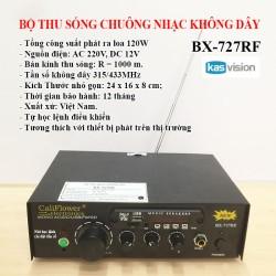 Giới thiệu bộ thu sóng chuông nhạc không dây bx727