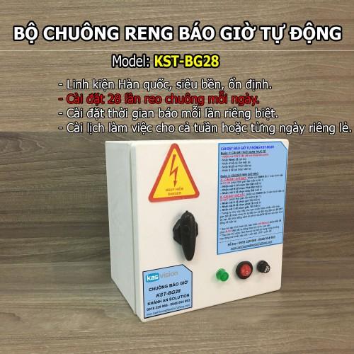 Bộ chuông báo giờ tự động bằng nhạc điệu không dây văn phòng KST-BG28M, đại lý, phân phối,mua bán, lắp đặt giá rẻ