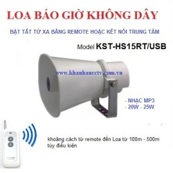 Loa phát nhạc không dây 15W điều khiển từ xa hoặc kết nối với trung tâm