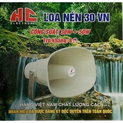 Loa phóng thanh 30W HC-30VN, loa nén 30W, đại lý, phân phối,mua bán, lắp đặt giá rẻ