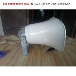 Loa phóng thanh 60W LN-65VN (loa nén 60W) vành ovan