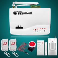 Hướng dẫn cài đặt bộ trung tâm báo trộm qua điện thoại AL46-GSM