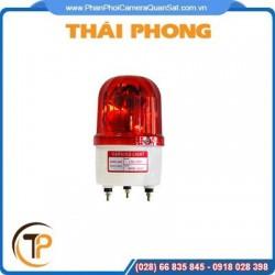 Đèn chớp báo động có còi có dây HS-208