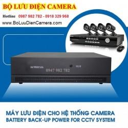 Cách tính bộ lưu điện cho hệ thống camera