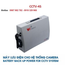 Bộ lưu điện cho 4 Camera YH CCTV-4S