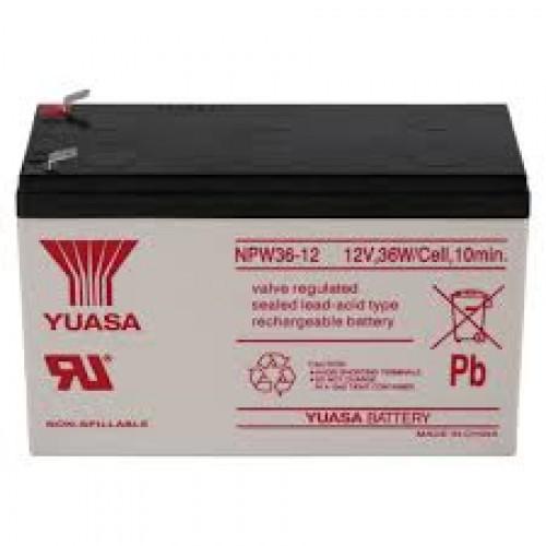 Bình Ắc quy 12V 7A Yuasa NPW36-12, đại lý, phân phối,mua bán, lắp đặt giá rẻ