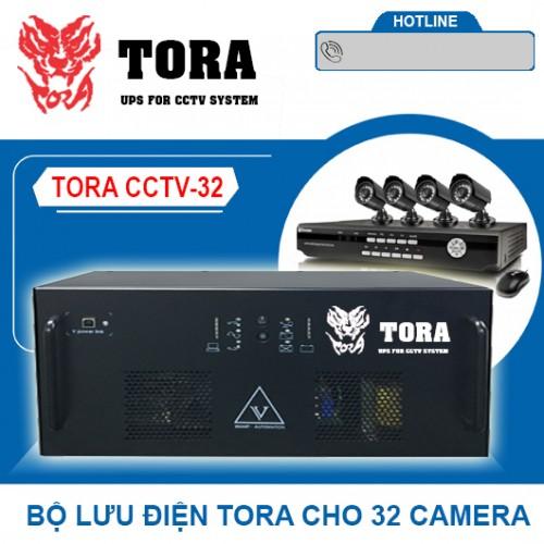 Bộ lưu điện cho 32 Camera TORA CCTV-32, đại lý, phân phối,mua bán, lắp đặt giá rẻ